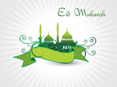 Illustration of eid background