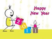 ilustrace pro nový rok 2011