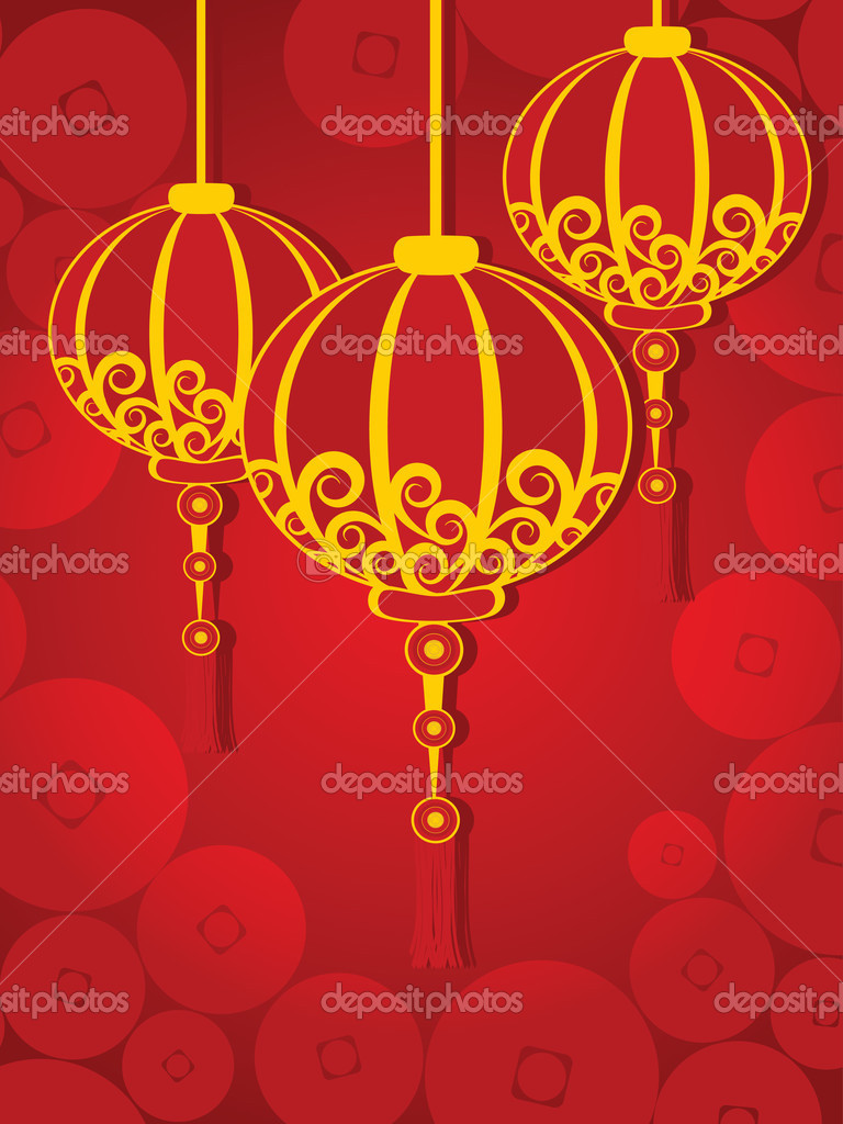 illustration for chinese new year u2014 stock vector alliesinteract