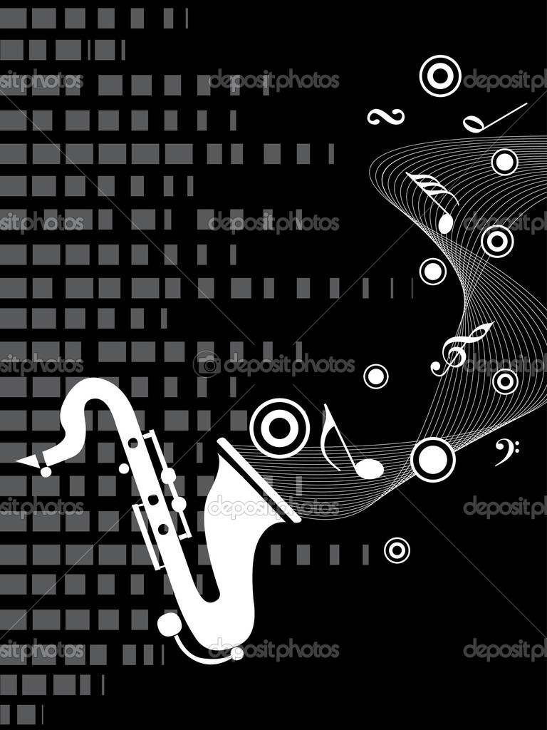 Sexophone, musical notes