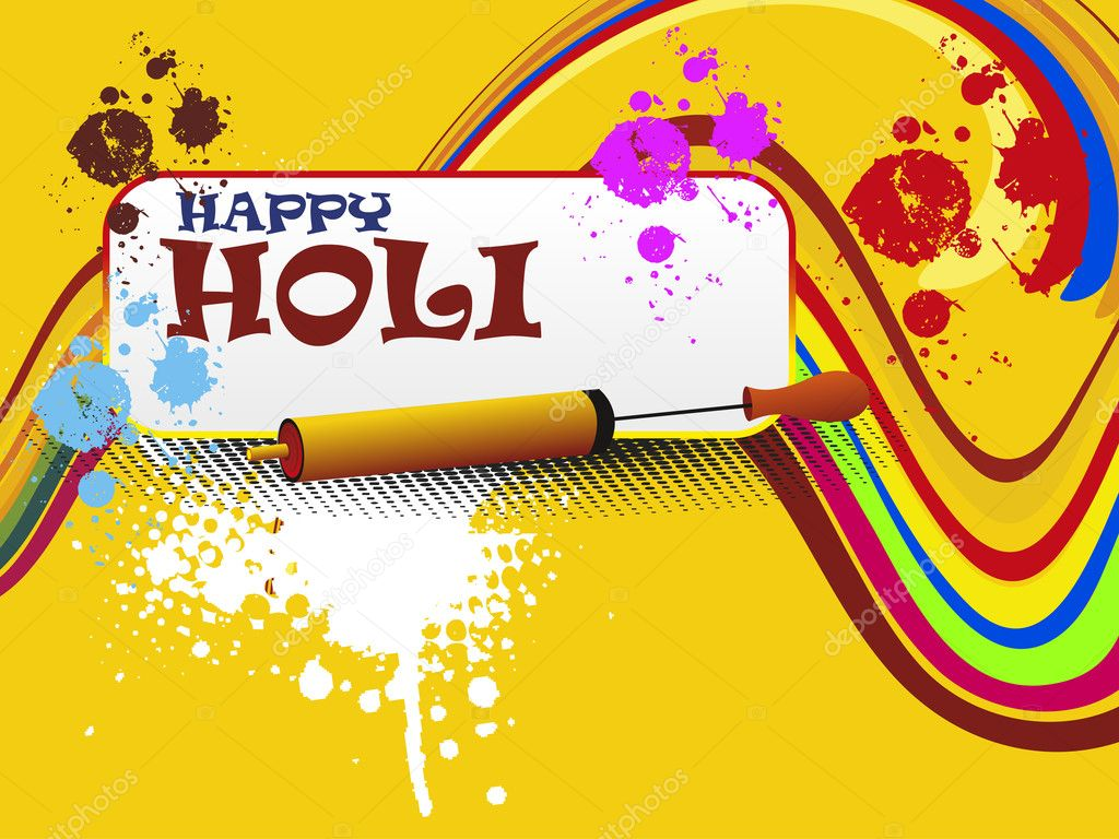 Background image 8841 - Abstract Colorful Grunge Background For Happy Holi Celebration Vector Illustration Vector By Alliesinteract