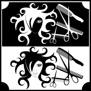 Logo for registration of hairdressing