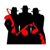 Gangsteři s tommy gun