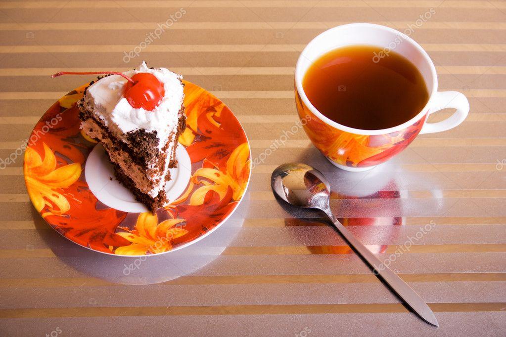 Картинки по запросу чай и пирожное фото