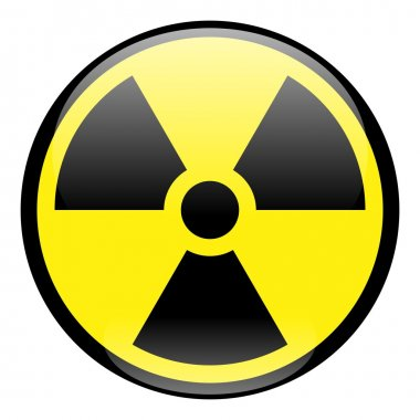 Radiation Round Sign Icon