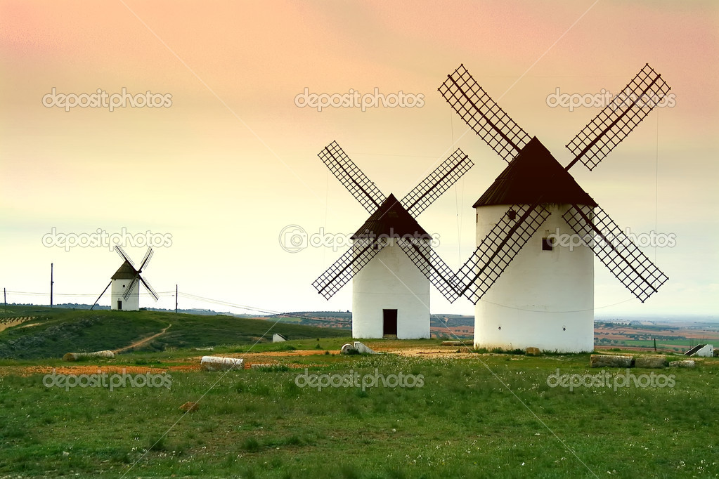 Windmills - Castilla-La Mancha. Spain