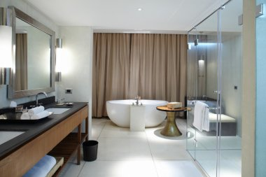 Modern comfortable bathroom