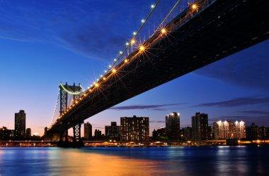 Big Apple after sunset - new york manhat