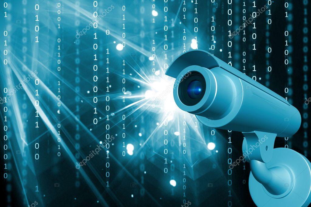 überwachungskamera qualität : Hoch qualität rendern der Überwachungskamera in abstrakte