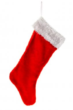Traditional red Christmas Stocking