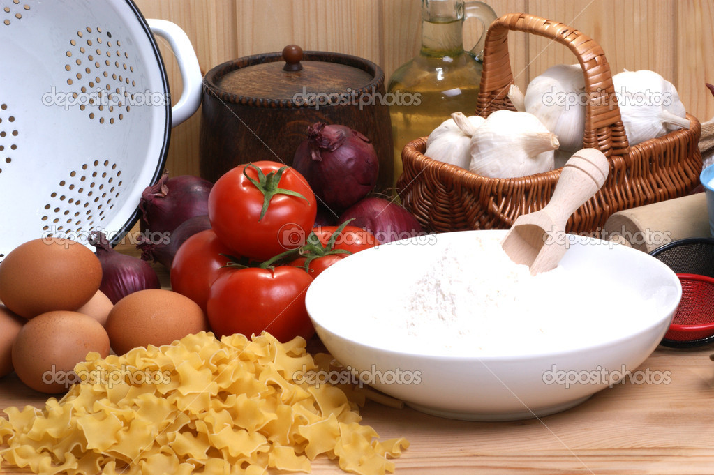 Home Made Noodle In An Italian Kitchen Stock Photo C Szakaly 2937302