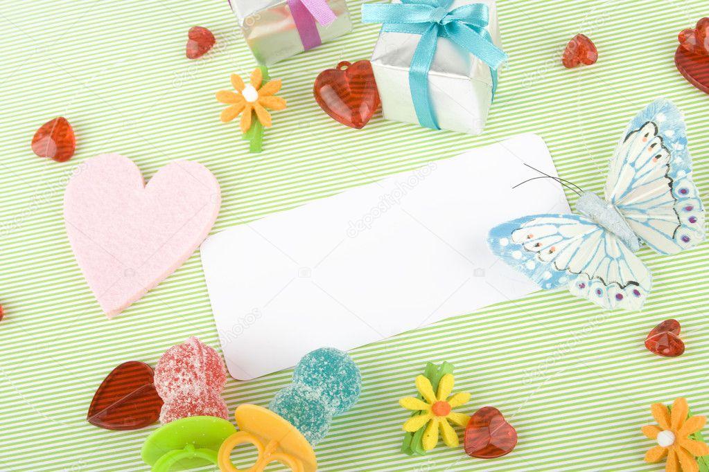 Zaproszenie Na Urodziny Dziecka Zdjęcie Stockowe Sunnybaby 3282253