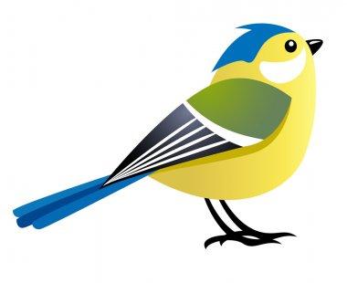 Cute cartoon bird