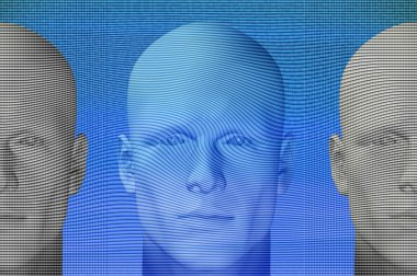 Futuristic figures