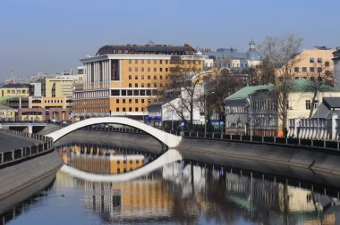 Quay in Moscow