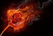 Flammendes Symbol