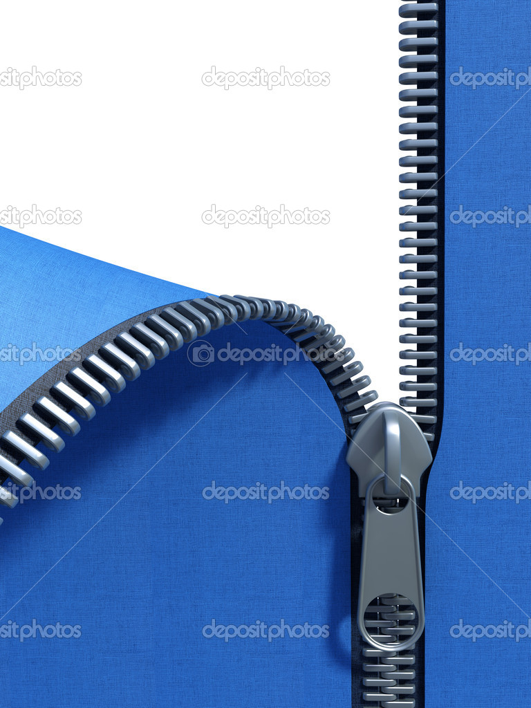 Unzip fabric — Stock Photo © auriso #3249153