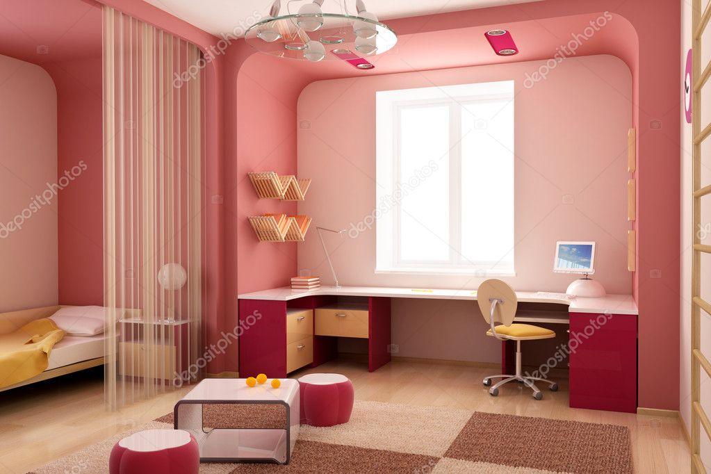 Children 39 s room interior stock photo auriso 3249198 - Children s room interior images ...
