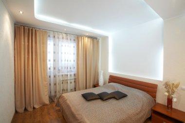 Interior of a sleeping room