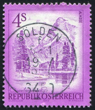 Stamp printed by Austria