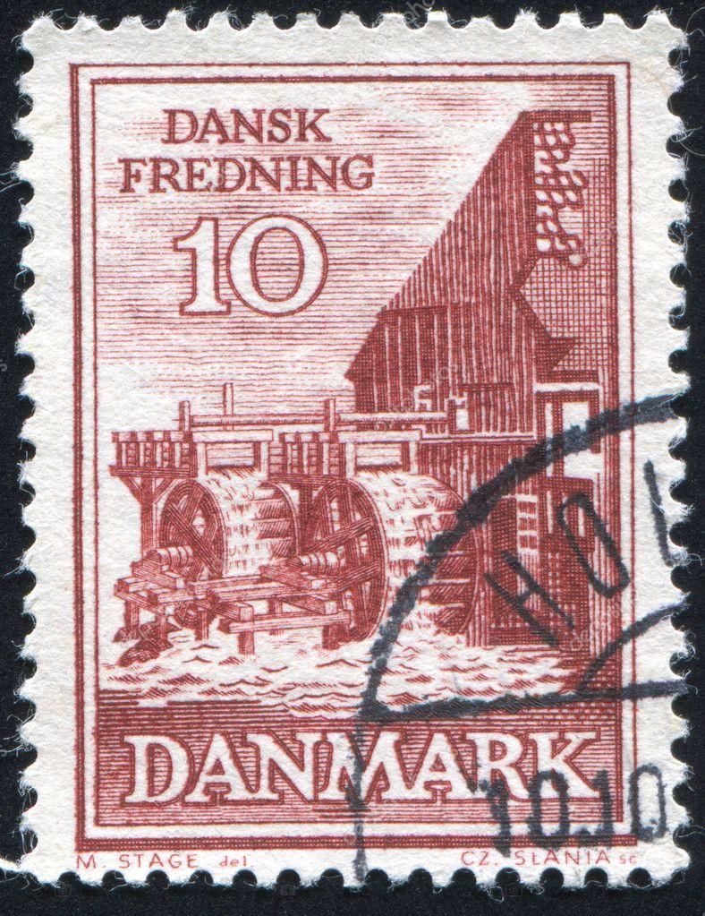 Timbre Danemark