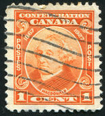 Stamp by Canada