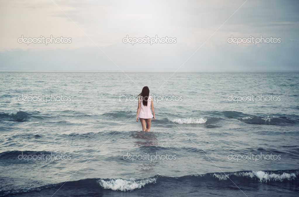 Solitude in sea