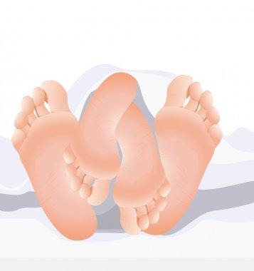 Couple feet