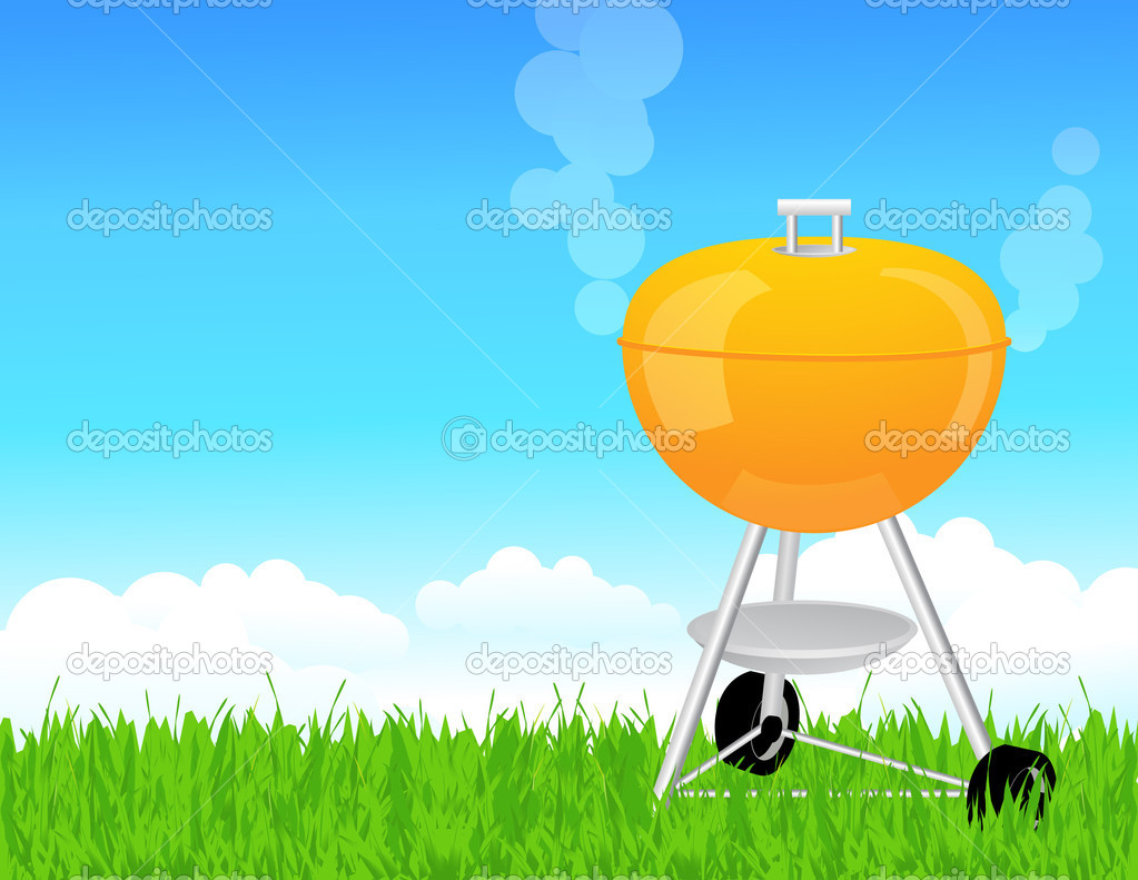 summer barbeque stock vector alegria 3609451