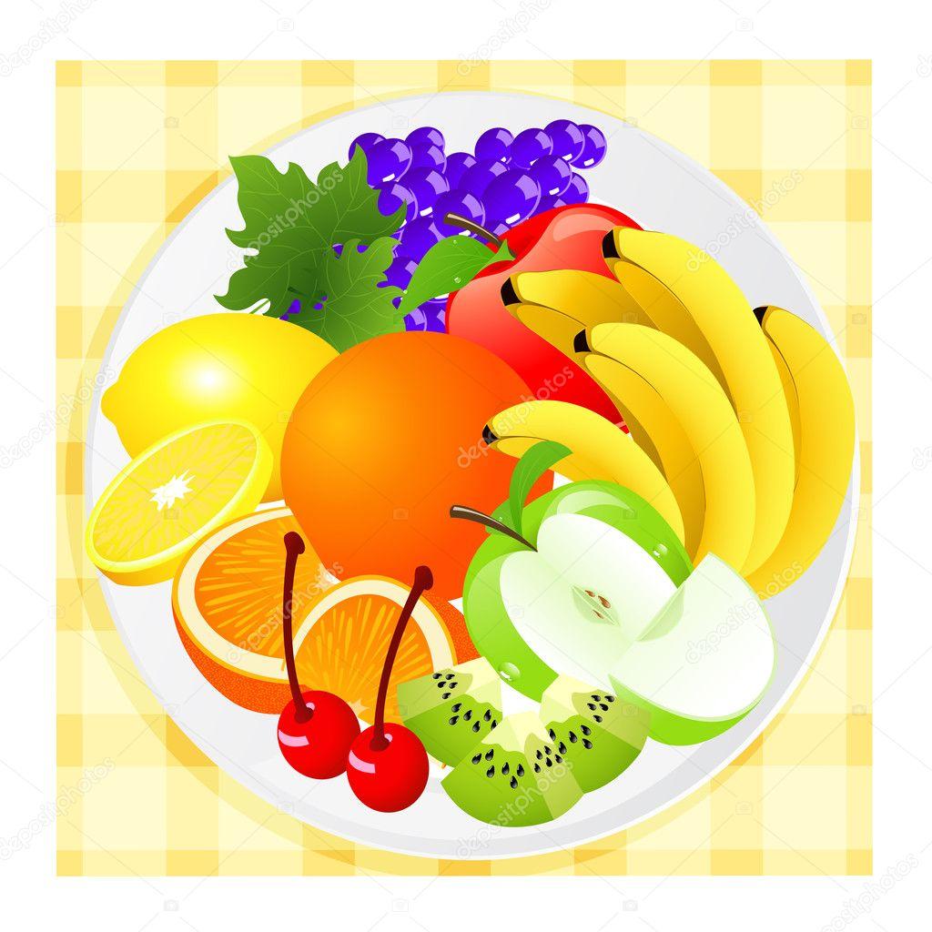 знали, что картинка детям тарелка с фруктами картинки познакомим вас самыми