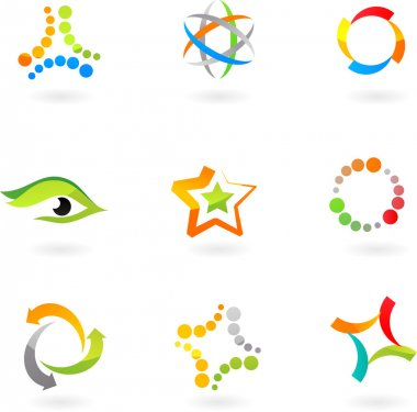 Abstract icon set - 7