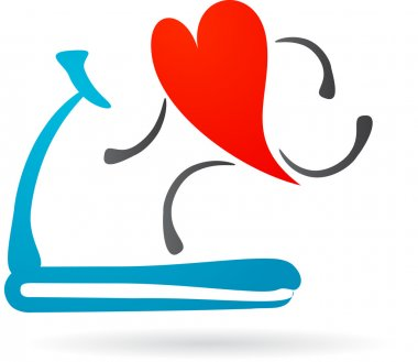 Heart on a treadmill
