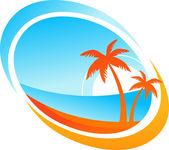 tropické pozadí