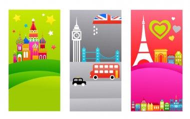 European travel destinations