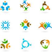 Fényképek Emberi ikonok és logók 1