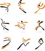 Fényképek Absztrakt táncosok 2
