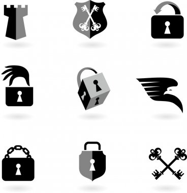 Security icons and logos - 2