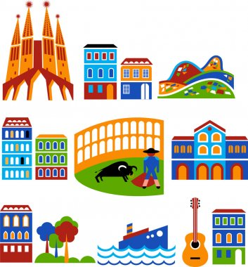 Barcelona - landmarks and attractions