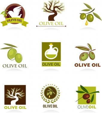 Olive icons and logos