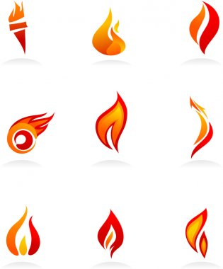 Fire icons - 1