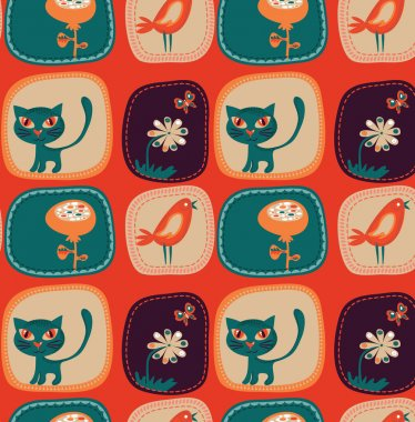 Cute childish wallpaper