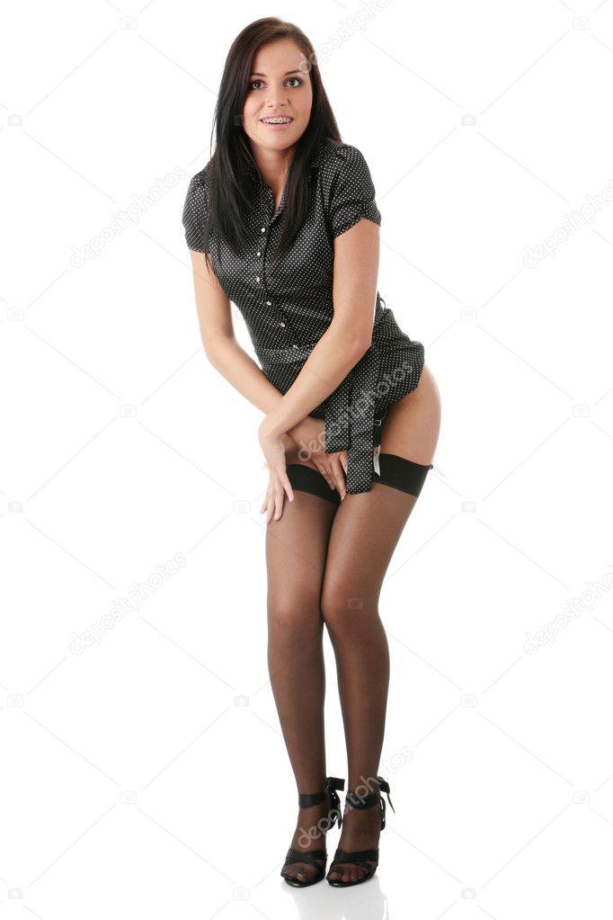 γυμνό κορίτσι συλλογή γυναίκα πιπιλίζουν μεγάλο πουλί