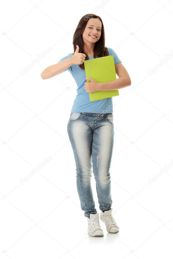 estudiantes chica universitaria