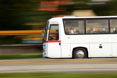 Summer vacation is over and we return home by bus