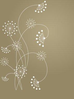 Flower pattern decoratively