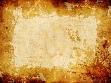 Golden Grunge Texture.