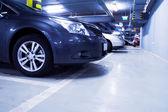 Fotografie Parking garage with cars