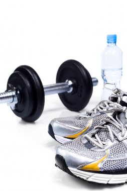 Exercise equipment ready to workout