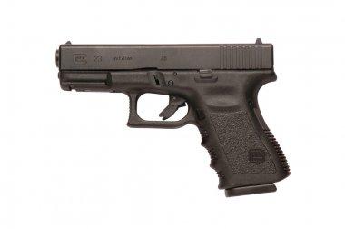 Glock automatic 9mm handgun pistol stock vector