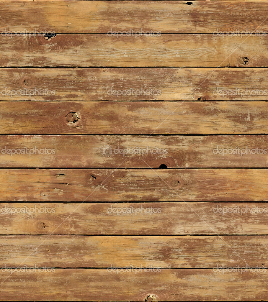 Distressed Wooden Surface Seamlessly Tileable Stock